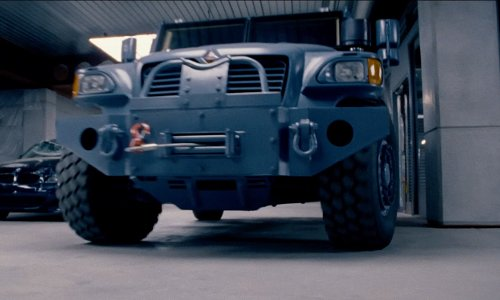 Unknown Actor with International MXT-MVA Truck in Fast & Furious 6