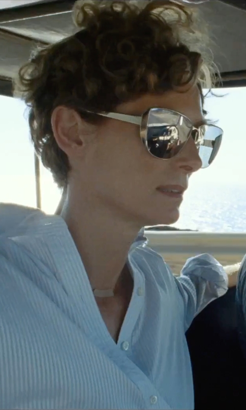 Tilda Swinton with Dior Futurist Sunglasses in A Bigger Splash