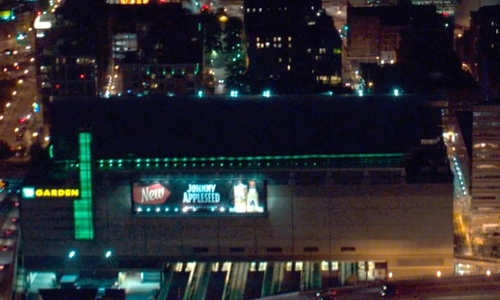 Unknown Actor with TD Garden Boston, Massachusetts in Ted 2