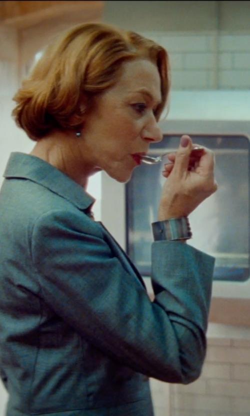 Helen Mirren with Stella Mccartney Wool Blazer in The Hundred-Foot Journey