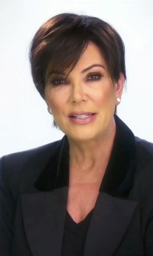 Kris Jenner with Theory Edition 2 Custom Gabe Blazer in Keeping Up With The Kardashians