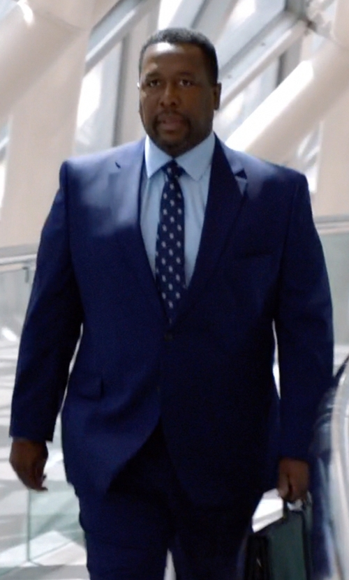 Wendell Pierce with Burberry Modern Fit Wool Suit in Suits