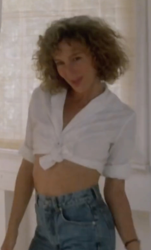 Jennifer Grey with Genetic Denim The Camina Bermuda Short in Dirty Dancing