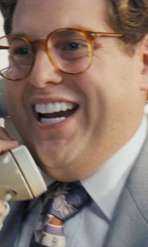 Jonah Hill with Polo Ralph Lauren Slim-Fit Oxford Dress Shirt in The Wolf of Wall Street