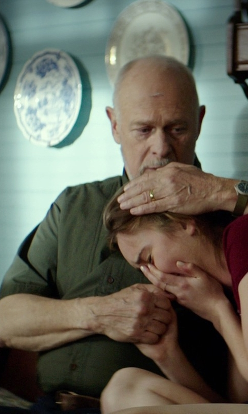 Gerald McRaney with Tri-Mountain Men's Valor Short Sleeve Twill Shirt in The Best of Me