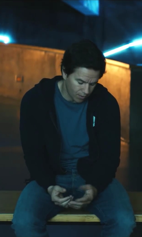 Mark Wahlberg with Nudie Jeans Co. Thin Finn Slim Jeans in Ted