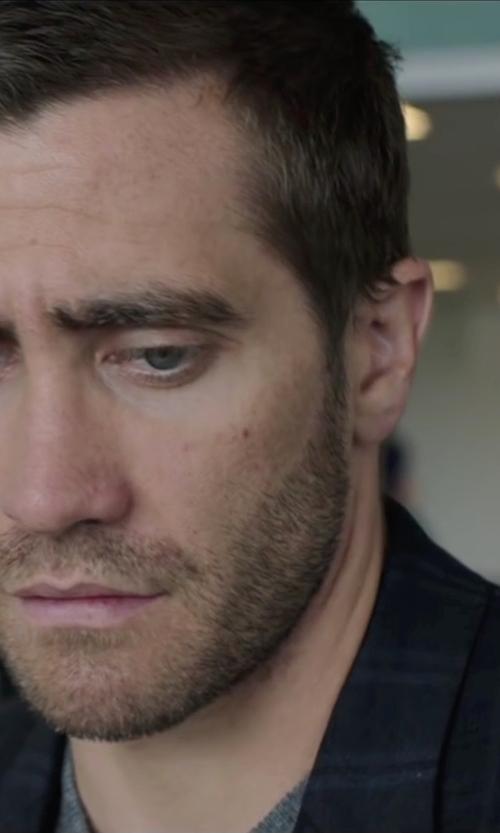 Jake Gyllenhaal with Lardini Plaid Blazer in Demolition