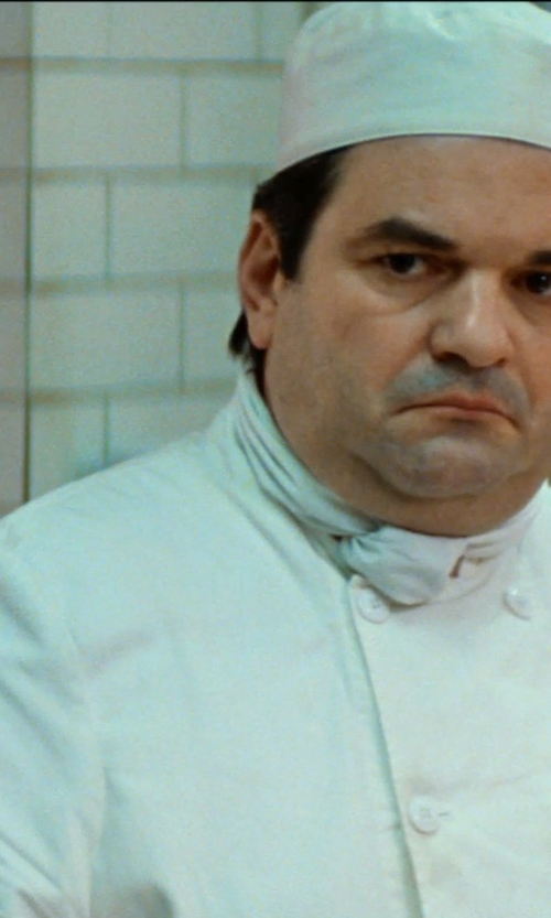 Unknown Actor with Newchef Fashion Marquis Chef Coat Men's White Chef Jacket in The Hundred-Foot Journey