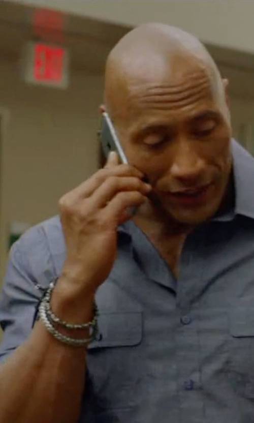 Dwayne Johnson with Survival Straps Light Duty Survival Bracelet in Ballers