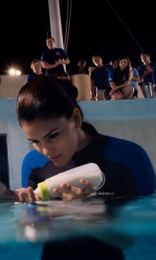 Betsy Landin with Ocean Tec Ocean Tec - Custom Made Ladies Shorty Stretch Wetsuit (Betsy Landin) in Dolphin Tale 2