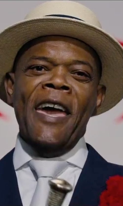 Samuel L. Jackson with Ben Sherman Chronograph Stainless Steel Watch in Chi-Raq
