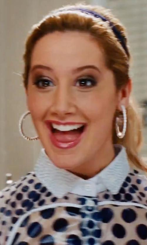 Ashley Tisdale with Tua Nua  Polka Dot Shirt in High School Musical 3: Senior Year