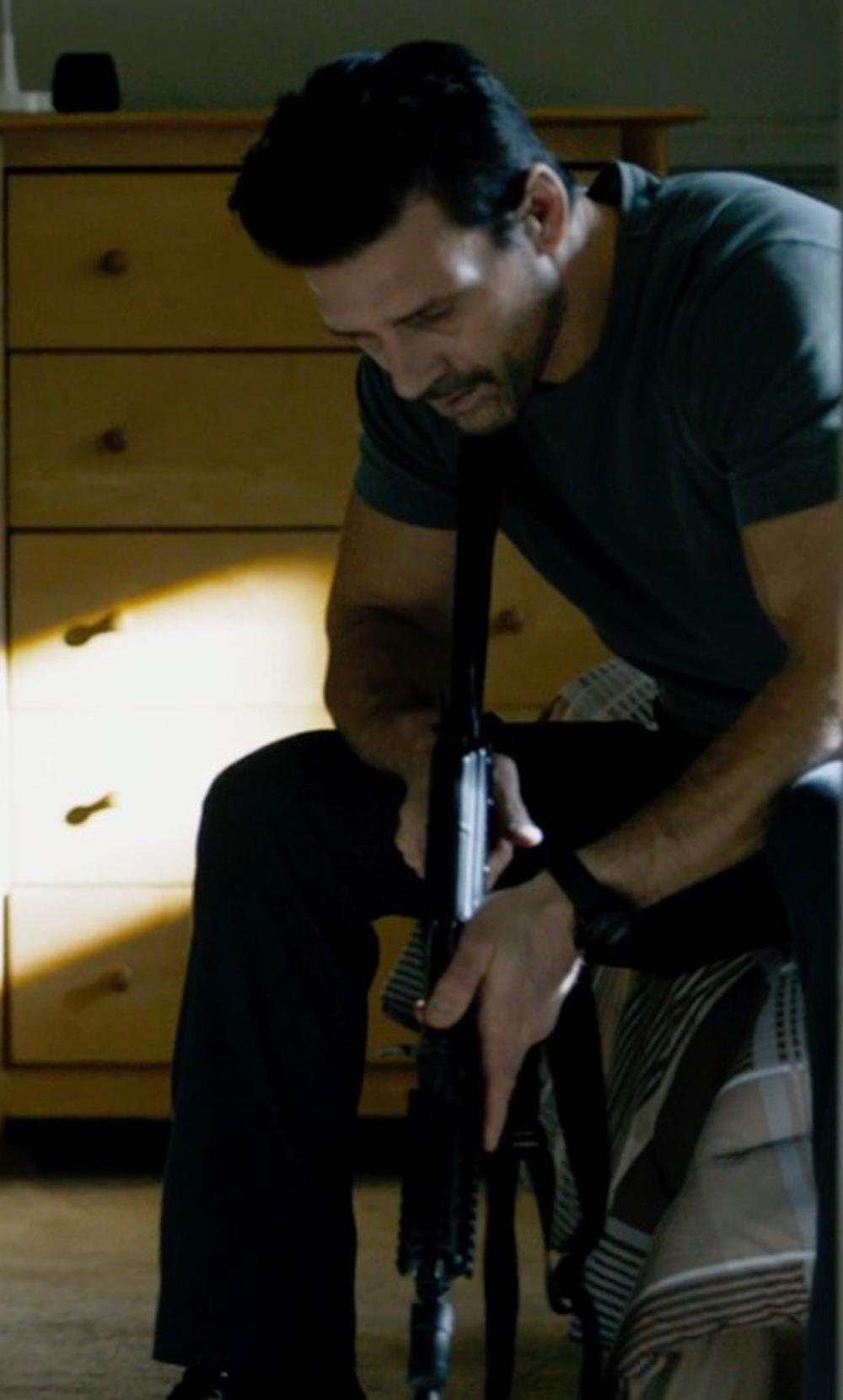 Frank Grillo with Diamond Supply Co. The Skate Life Stretch Chinos in The Purge: Anarchy