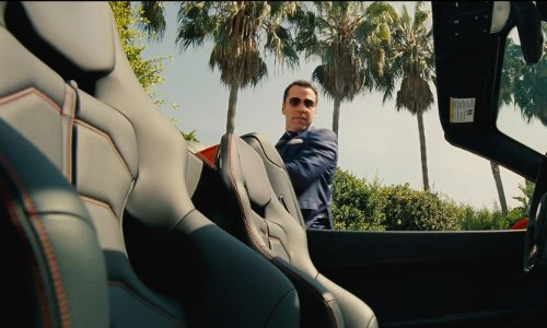 Jeremy Piven with Chevrolet Corvette Stingray Car in Entourage