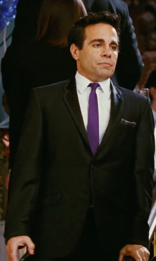 Mario Cantone with Burberry Modern Fit Wool Suit in Sex and the City