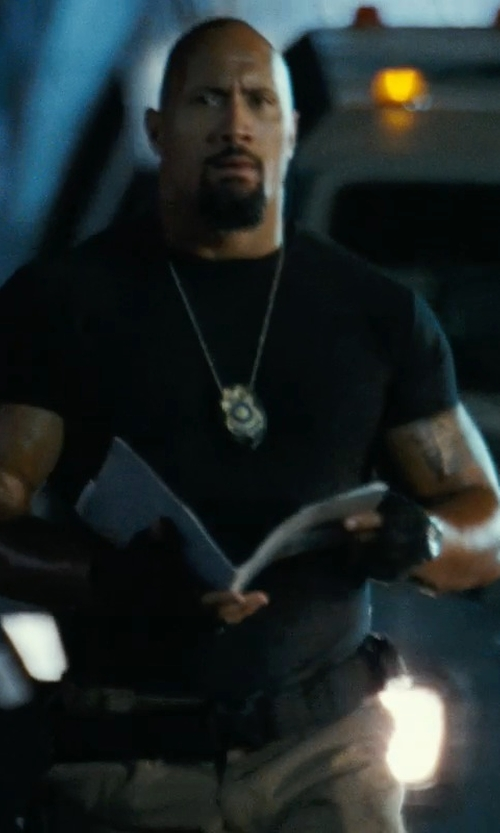 Dwayne Johnson with Condor Tactical Belt in Fast Five
