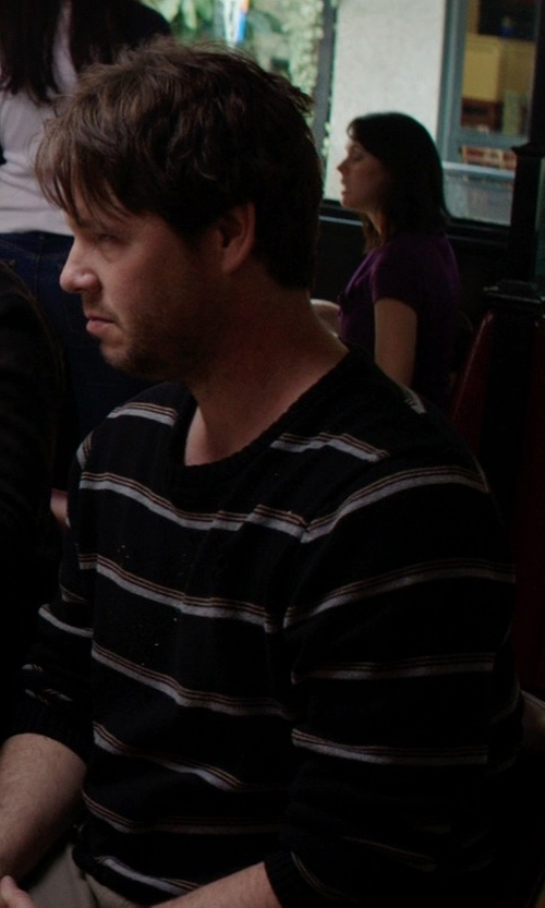 Ike Barinholtz with Carhartt Flick Sweater in Neighbors