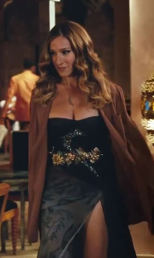 Sarah Jessica Parker with Maison Martin Margiela Wool Blazer Jacket in Sex and the City 2