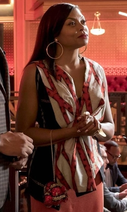 Taraji P. Henson with Judith Leiber  Year of the Snake Clutch Bag in Empire