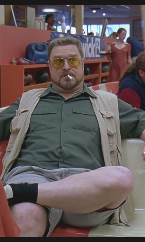 John Goodman with Dickies Short-Sleeve Work Shirt in The Big Lebowski