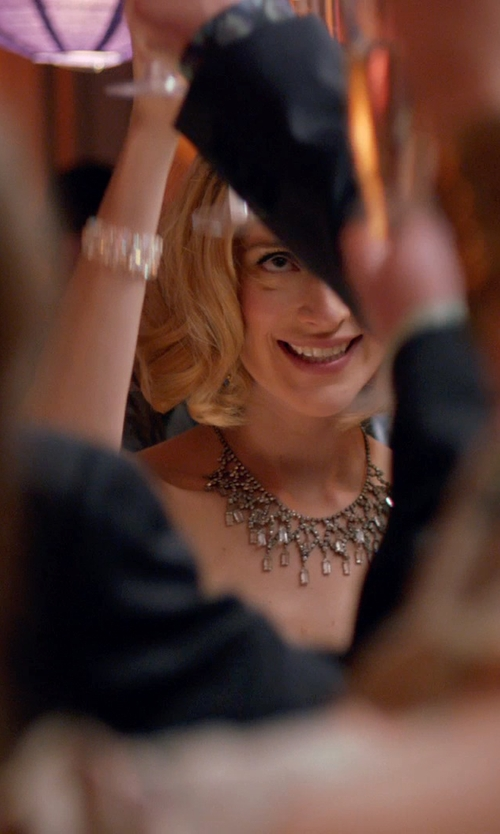 Caitlin FitzGerald with Ella Carter Jesse Bracelet in Adult Beginners