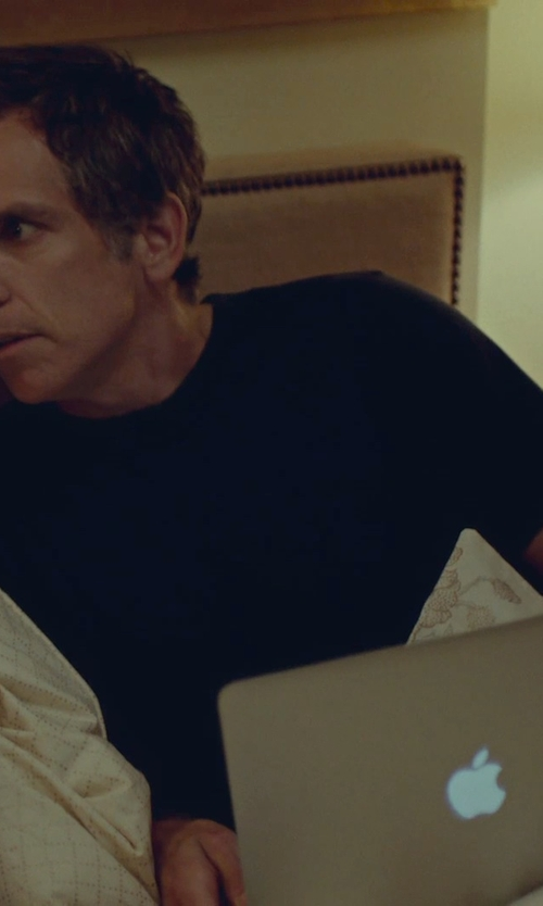 Ben Stiller with Apple MacBook Air Laptop in While We're Young