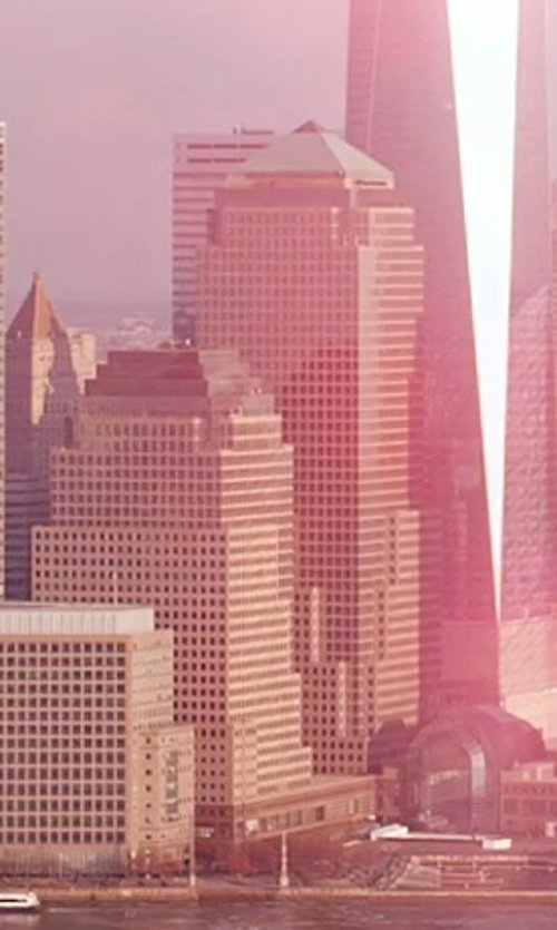 Unknown Actor with 200 Vesey Street - Three World Financial Center New York City, New York in Top Five
