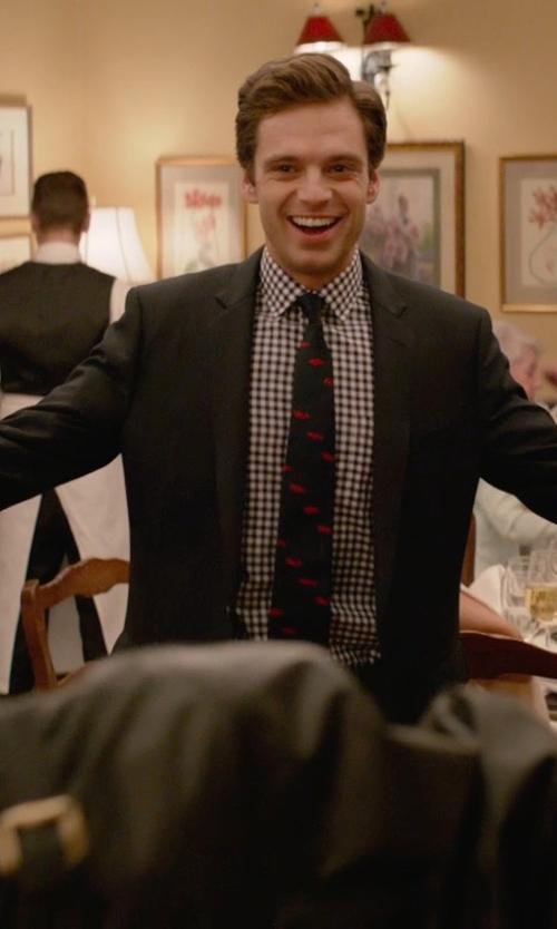Sebastian Stan with Theory 'Wellar HC' Blazer in Ricki and the Flash
