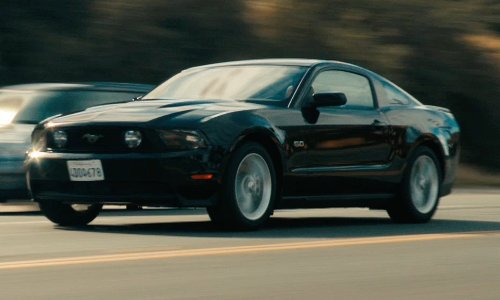 Ryan Gosling with Ford 2011 Mustang GT Car in Drive