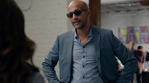 Keegan-Michael Key with Theory Rodolf Jacket in Pitch Perfect 2