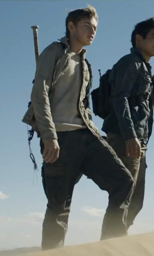 Jacob Lofland with Kane & Unke Lightweight Field Jacket in Maze Runner: The Scorch Trials