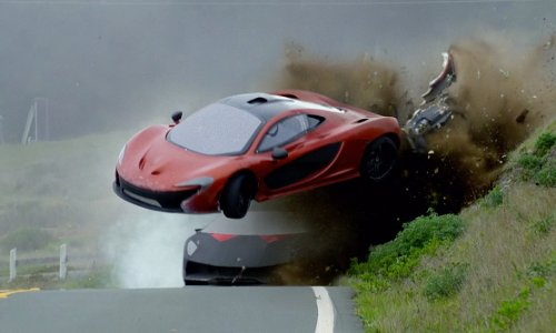 Brent Fletcher with McLaren P1 Coupe in Need for Speed