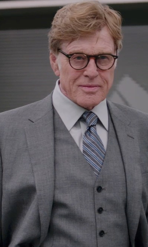 Robert Redford with SAINT LAURENT Shirts in Captain America: The Winter Soldier