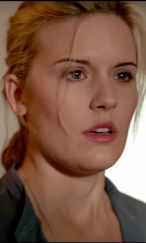 Maggie Grace with Jil Sander Blouse in Taken 3