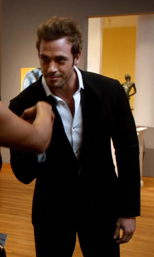 William Levy with Kenneth Cole Sportswear Solid Sport Coat in Addicted
