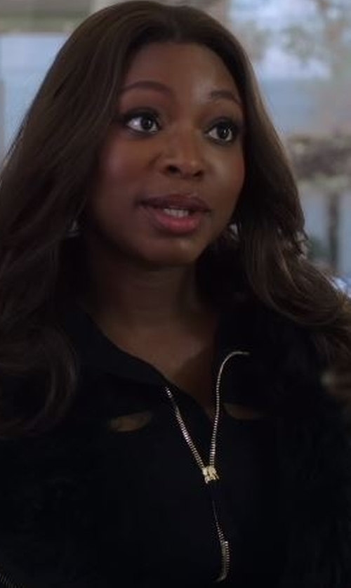 Naturi Naughton with Nike  Dri-FIT Training Jacket in Power