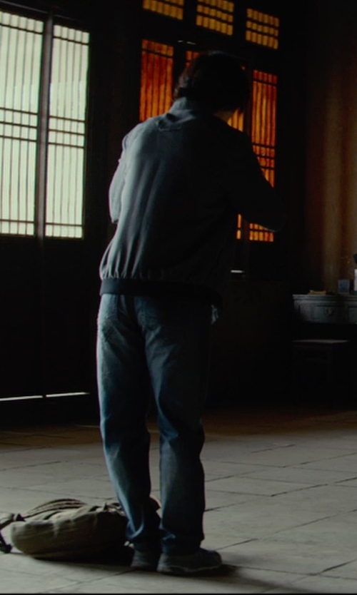 Tiger Hu Chen with Arc'Teryx Veilance Nemis LIgfht weight Bomber Jacket in Man of Tai Chi