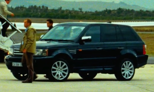 Unknown Actor with Land Rover 2006 Range Rover Sport SUV in Safe House