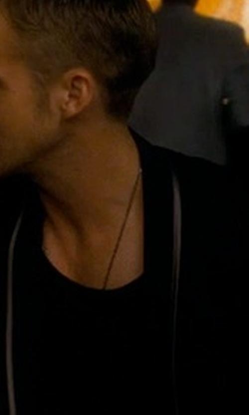 Ryan Gosling with Hugo Boss Velvet Paisley-Print Jacket in Crazy, Stupid, Love.