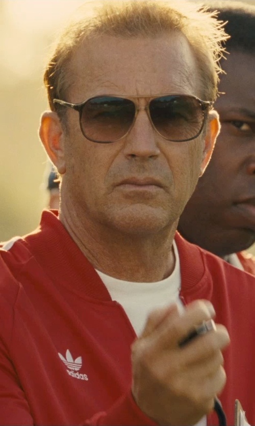 Kevin Costner with Smith Optics Serpico Polarized Sunglasses in McFarland, USA