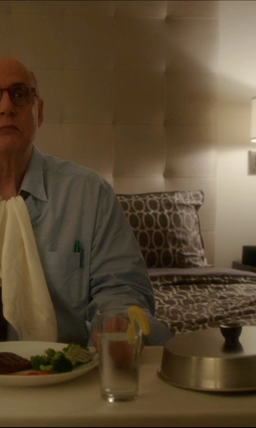 Jeffrey Tambor with Robert Abbey Real Simple Wall Lamp in The D Train