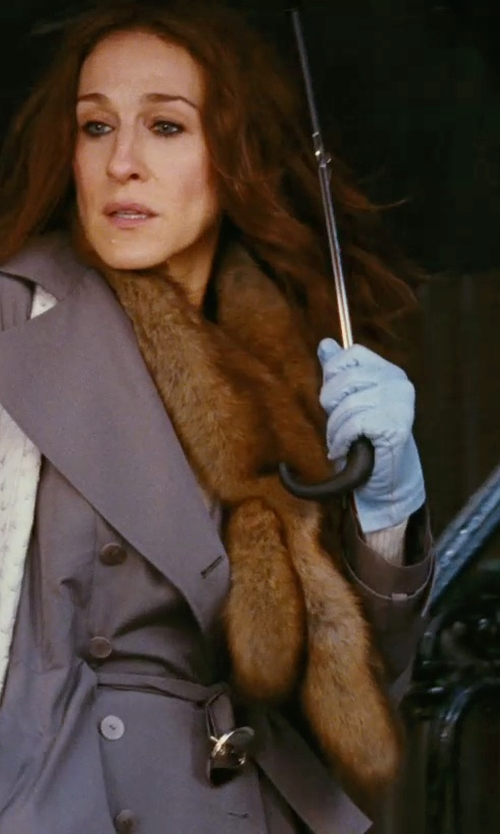 Sarah Jessica Parker with Sinoguo Becko Stick Tote Umbrella in Sex and the City