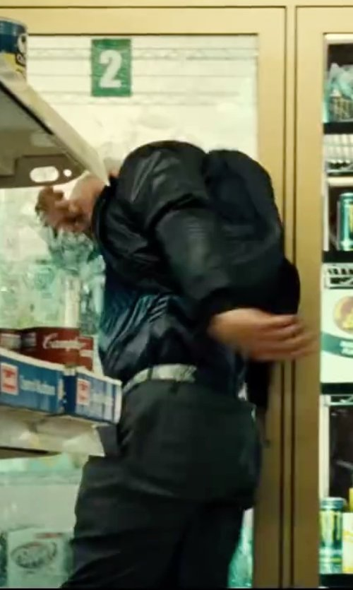 Unknown Actor with Cole Haan Colebrook Belt Buckle in Taken 3