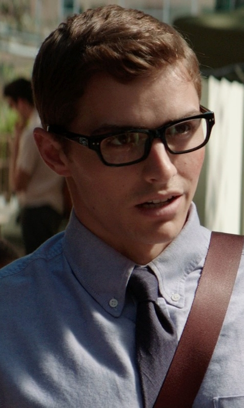 Dave Franco with Armani Exchange AX3007 Eyeglasses in Neighbors