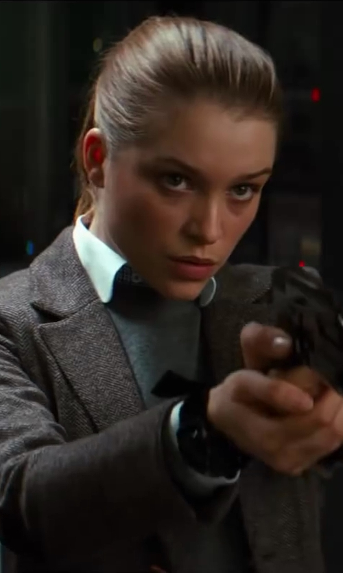 Sophie Cookson with G-Shock G-Aviation Multi Mission Combi GW3500B in Kingsman: The Secret Service