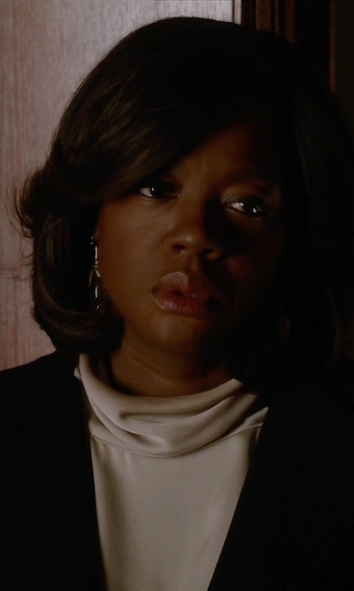Viola Davis with Rick Owens Draped Top in How To Get Away With Murder