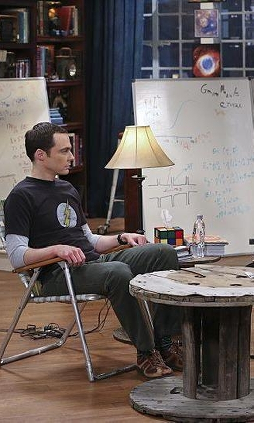 Unknown Actor with Usongs Trading Inc Rubik's Cube Tissue Box Cover in The Big Bang Theory