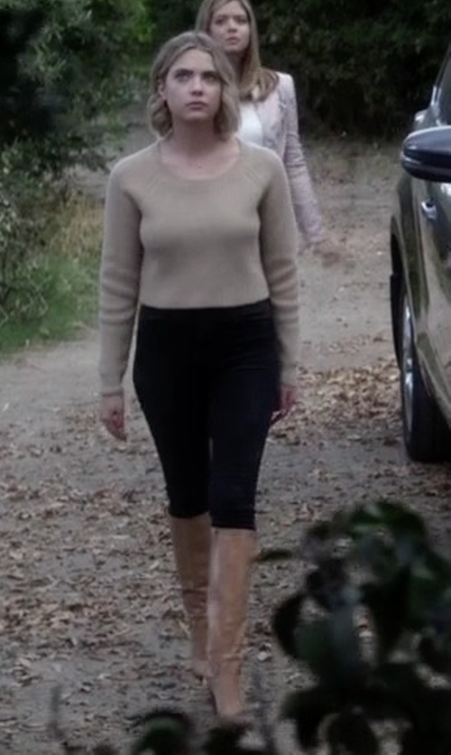 Ashley Benson with Topshop Moto 'Jamie' High Rise Skinny Jeans in Pretty Little Liars