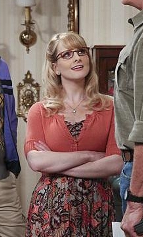 Melissa Rauch with Mixmix Short Dress in The Big Bang Theory
