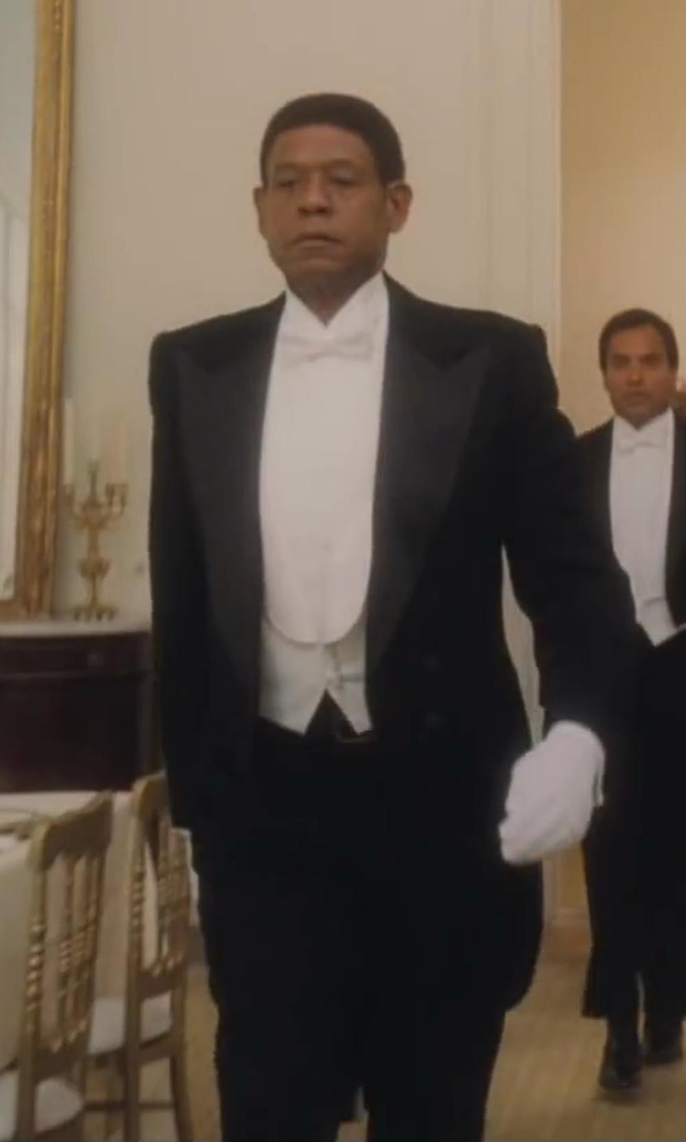 Forest Whitaker with Theory Joseph Trousers in Lee Daniels' The Butler